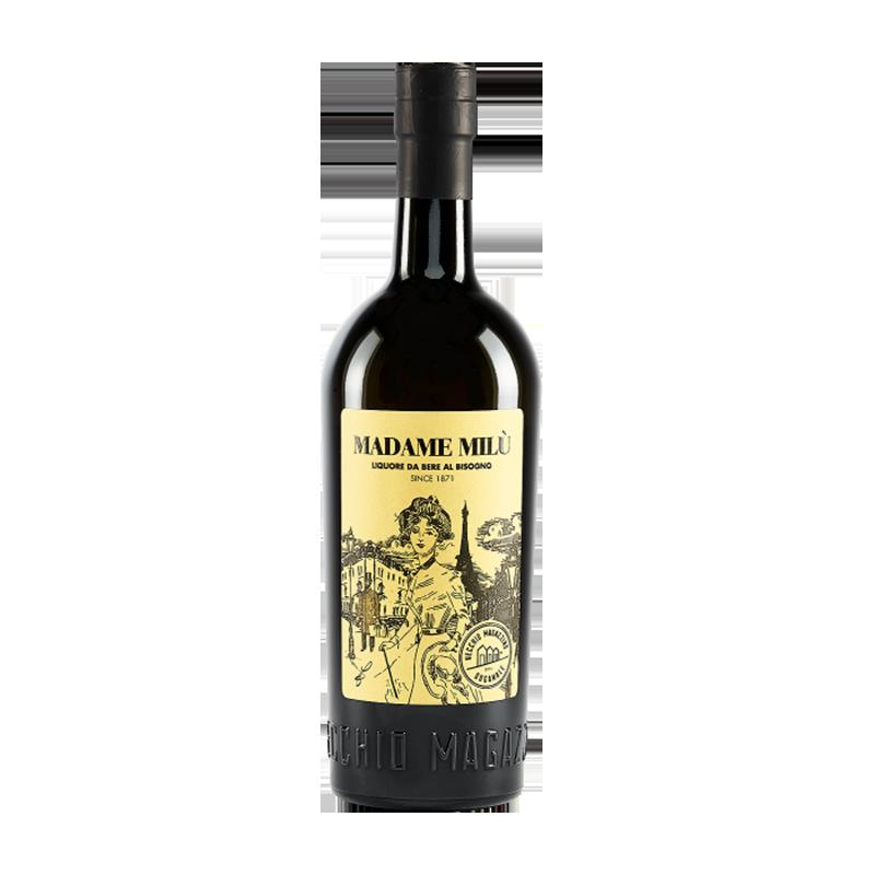 Madame Milu Liquore da bere al bisogno Vecchio Magazzino Doganale